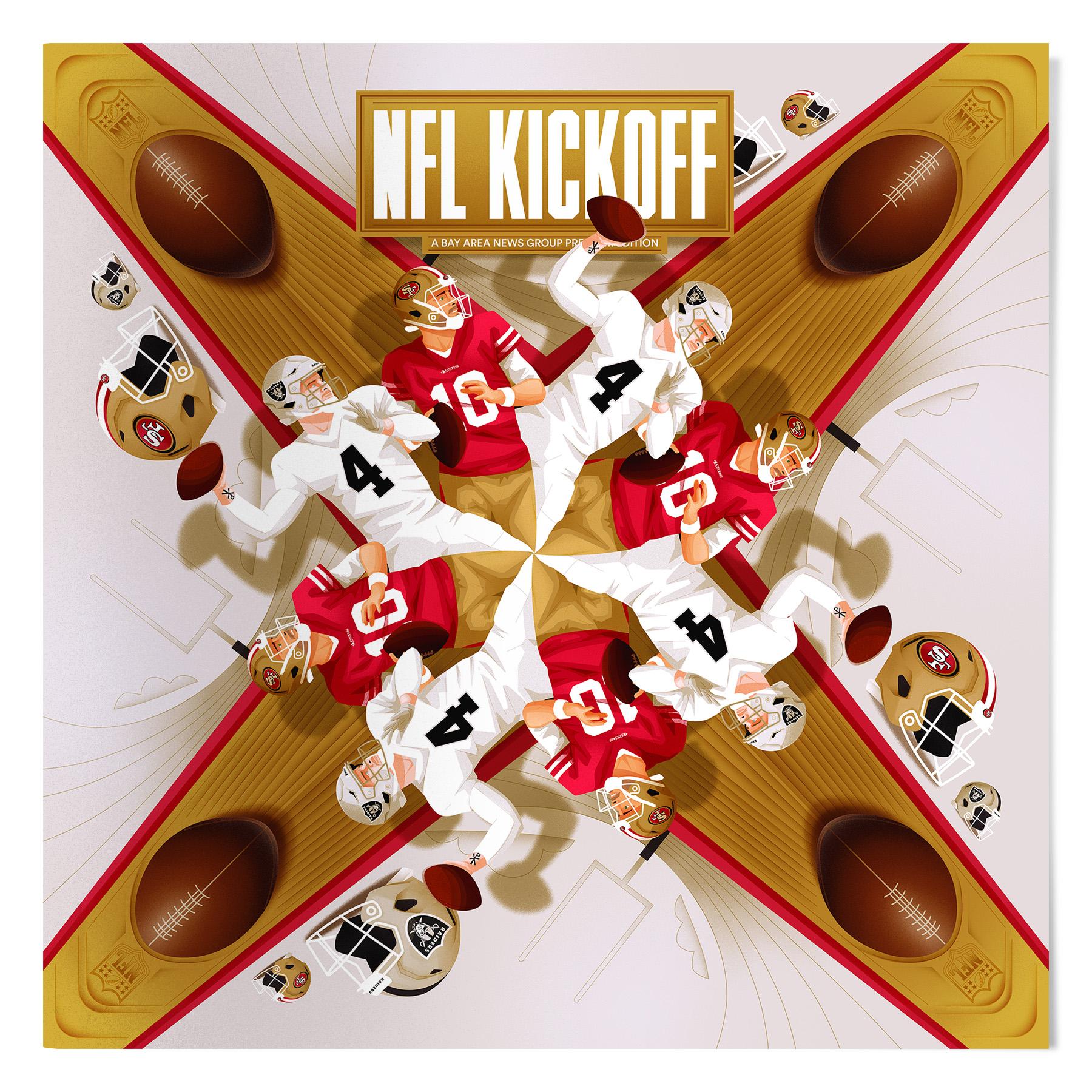 NFL Cover Kickoff Magazine