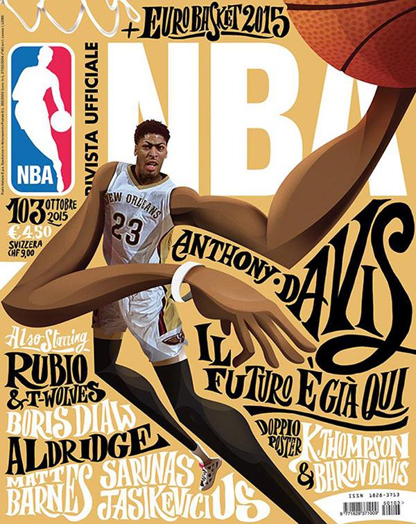 NBA rivista ufficiale cover